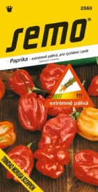 Paprika TRINIDAD MORUGA SCORPION RED