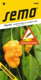 Paprika TRINIDAD MORUGA SCORPION YELLOW