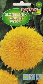 Slnečnica okrasná plná žltá Polan – 2 g